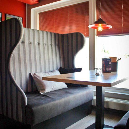 Ravintolan sisustussuunnittelu - Bar & Grill Varikko Kankaanpää