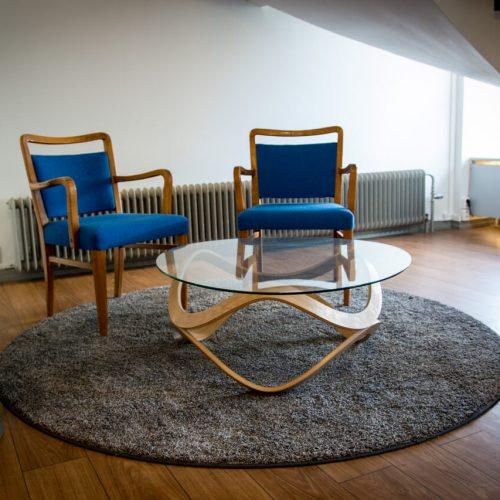 Sisustussuunnittelu Tampereen Suomalainen Klubi aula