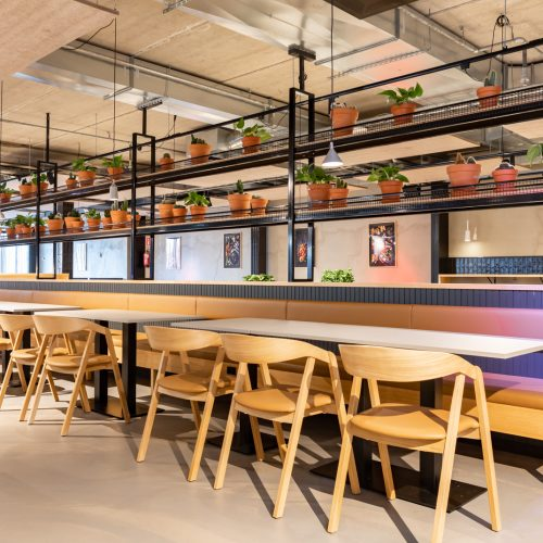 Sisustussuunnittelu ravintola Arlanda Tampere