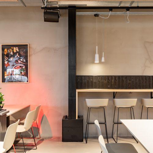 Sisusutussuunnittelu ravintola Arlanda Tampere